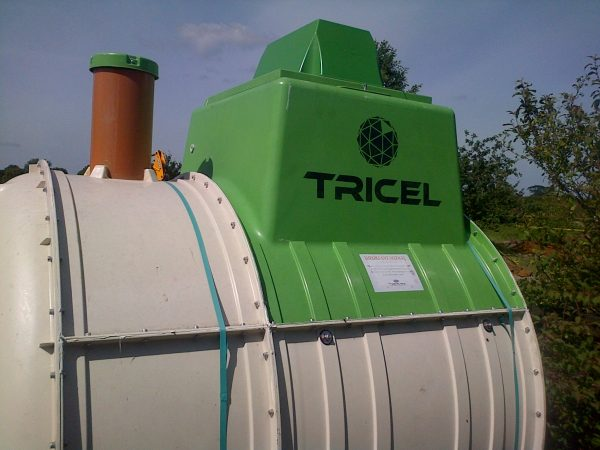 Sewage treatment plant delivered ready for installation in essex
