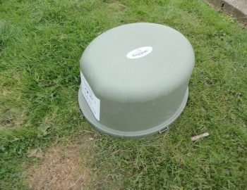 Sewage treatment plant blower housing to power the treatment process