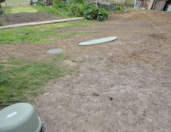 Sewage treatment plant installation completed with excavations back filled
